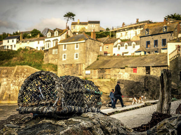 Photograph - Old Lobster Pot by Nick Bywater