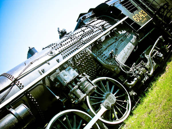 Steam Engine Photograph - Old Locomotive 01 by Michael Knight