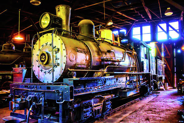 Loco Wall Art - Photograph - Old Locomotive No 2 by Garry Gay