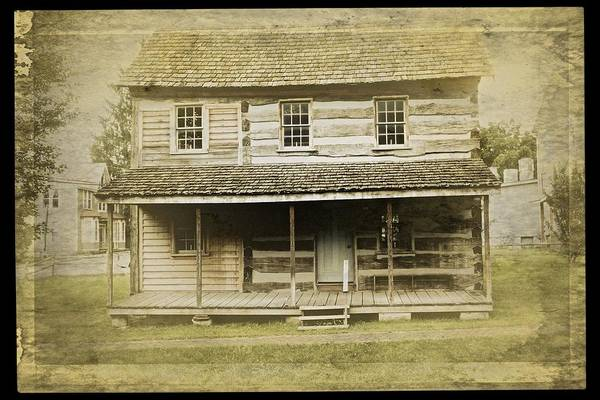 Photograph - Old Log Cabin by Joan Reese