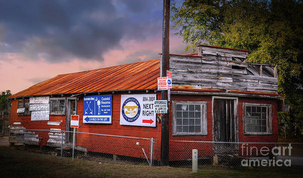 Photograph - Old Lowcountry Vintage Shack Off Clements Ferry Road by Dale Powell