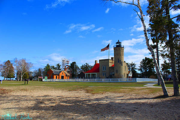 Michilimackinac Wall Art - Photograph - Old Mackinac Point Lighthouse by Michael Rucker