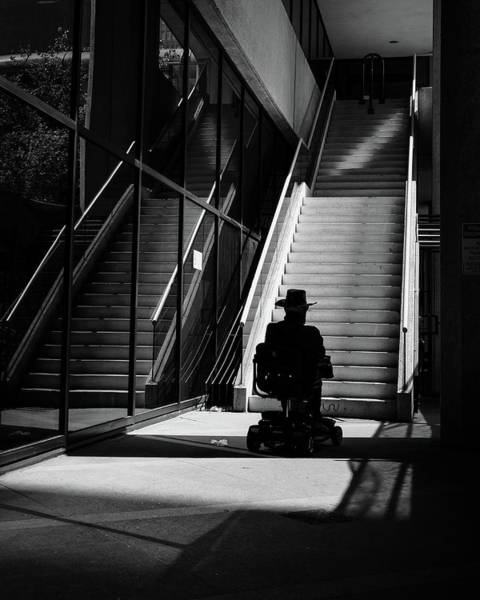 Photograph - Old Man And Scooter by John McArthur