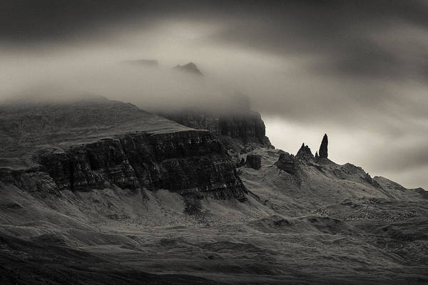 Isle Of Skye Photograph - Old Man And The Storr by Dave Bowman