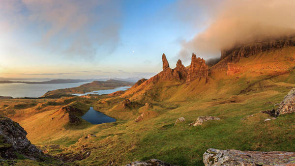 Isle Of Skye Photograph - Old Man Of Storr by Davorin Mance