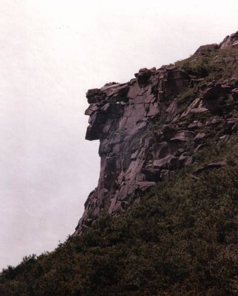 Scenery Photograph - Old Man Of The Mountain by Wayne Toutaint