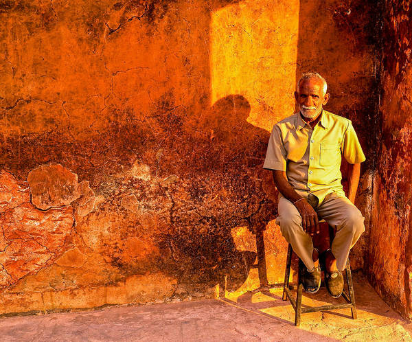 Photograph - Old Man by M G Whittingham