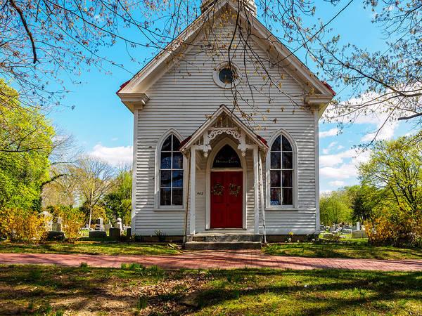 Photograph - Old Memorial Chapel by Louis Dallara