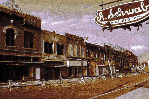 Photograph - Old Memphis Beale Street by Peter Potter
