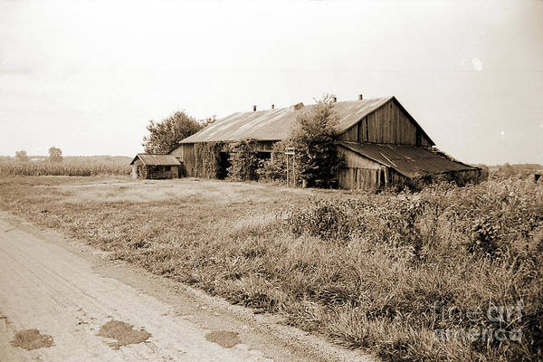 Photograph - Old Midwestern Country Barn by Gary Wonning