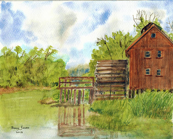 Painting - Old Mill by Barry Jones