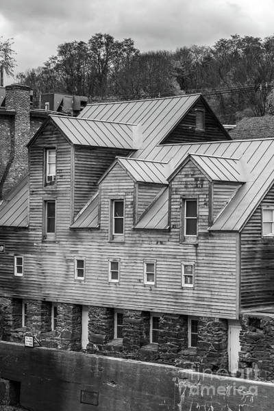 Textile Mill Photograph - Old Mill Buildings by Edward Fielding