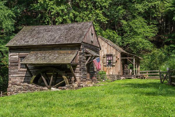 Photograph - Old Mill Cuttalossa Farm Pennsylvania by Terry DeLuco