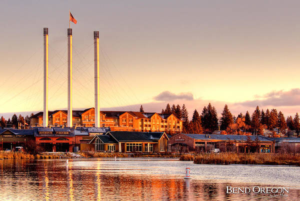 Wall Art - Photograph - Old Mill District - Bend, Oregon by John Melton