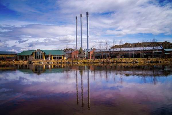 Photograph - Old Mill District Reflections by Lynn Bauer