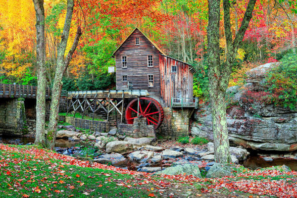 West Virginia Photograph - Old Mill by Emmanuel Panagiotakis
