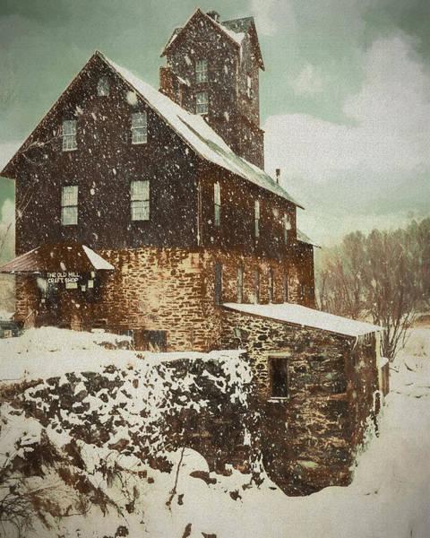 Digital Art - Old Mill  by Rusty R Smith