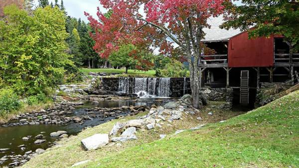 Photograph - Old Mill - Weston, Vermont by Joseph Hendrix