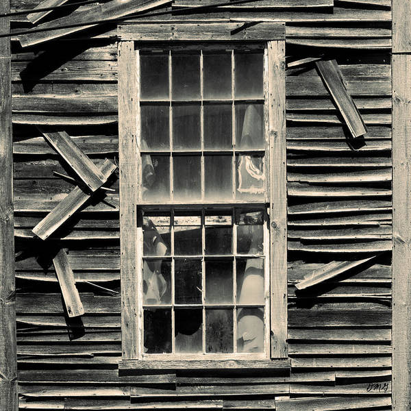 Photograph - Old Mill Window Toned by David Gordon