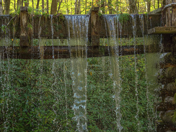 Millrace Wall Art - Photograph - Old Mingus Mill by Peggy Blackwell