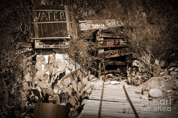 Photograph - Old Mining Tracks by Kirt Tisdale