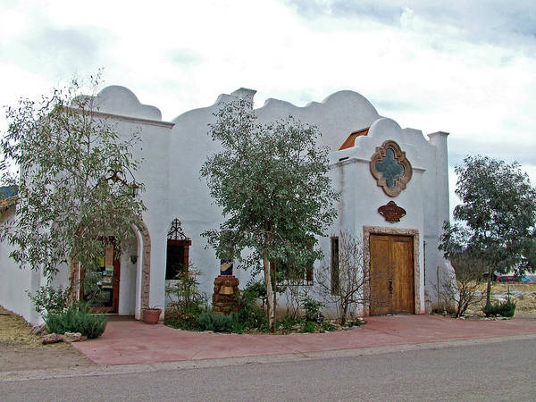 Misson Photograph - Old Mission In Patagonia-arizona by Ruth Hager