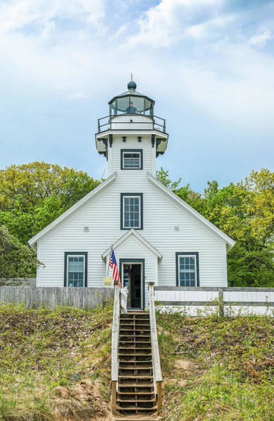 Photograph - Old Mission Lighthouse by Dan Sproul