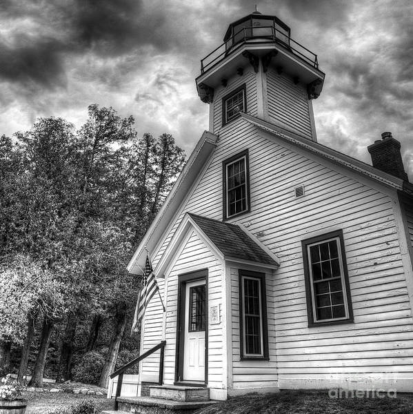 Mission Bay Photograph - Old Mission Lighthouse by Twenty Two North Photography