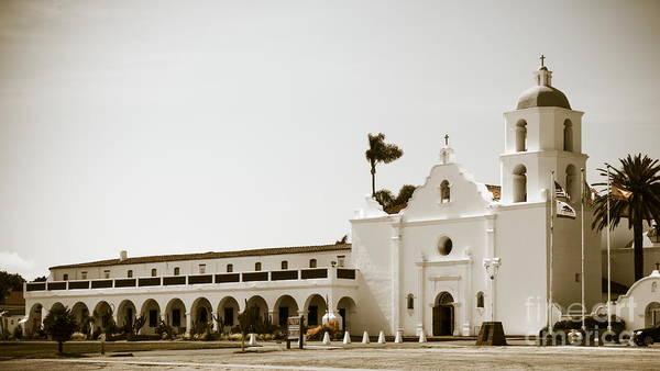San Luis Rey De Francia Photograph - Old Mission San Luis Rey De Francia #0228 by Onie Dimaano