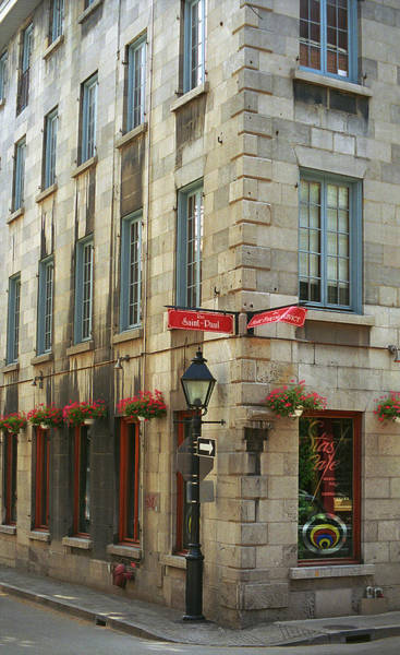 Photograph - Old Montreal by Frank Romeo