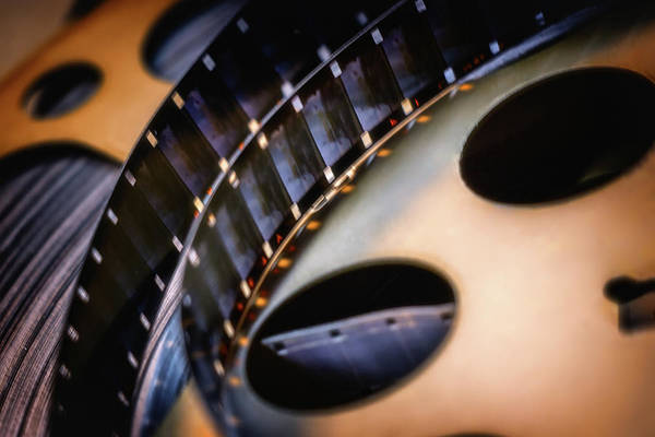 Cinematography Photograph - Old Movies by Marnie Patchett
