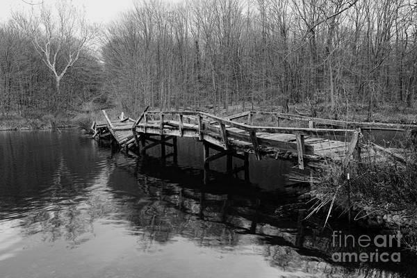 Troll Photograph - Old Mule Bridge by Paul Ward