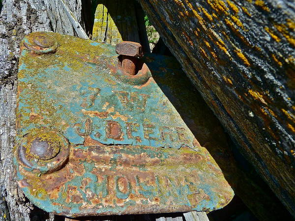 Photograph - Old Name Plate by Diana Hatcher