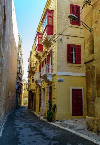 Photograph - Old Narrow Street In Malta B by Jacek Wojnarowski