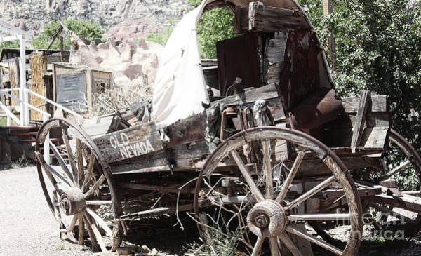 Wall Art - Photograph - Old Nevada  by Steven Digman