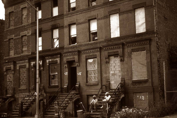 Photograph - Old New York Photo - Harlem by Peter Potter