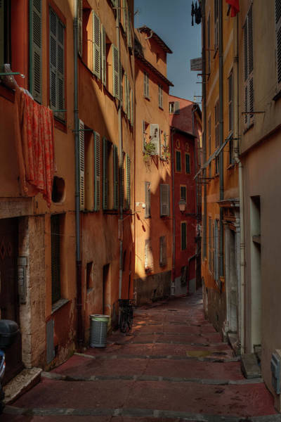 Photograph - Old Nice - Vieille Ville 004 by Lance Vaughn
