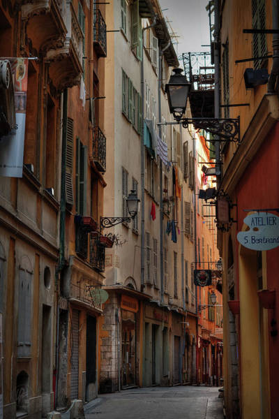 Photograph - Old Nice - Vieille Ville 005 by Lance Vaughn