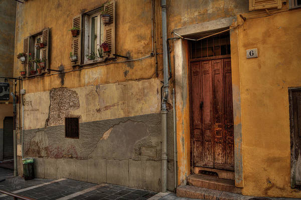 Photograph - Old Nice - Vieille Ville 008 by Lance Vaughn