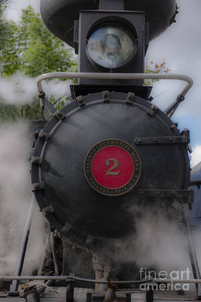 Photograph - Old Number 2 Blowing Some Steam by Dale Powell