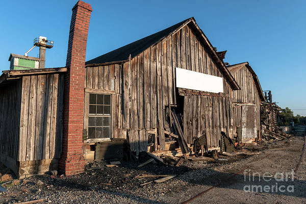 Photograph - Old Oil Mill In Pendleton Sc by Dale Powell