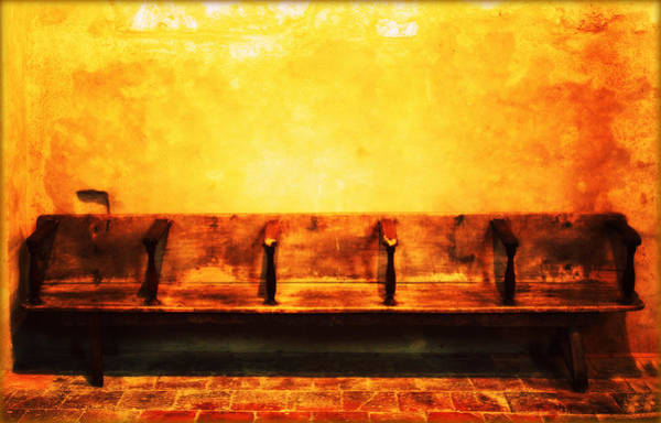 Photograph - Old Old Pew by Susie Weaver