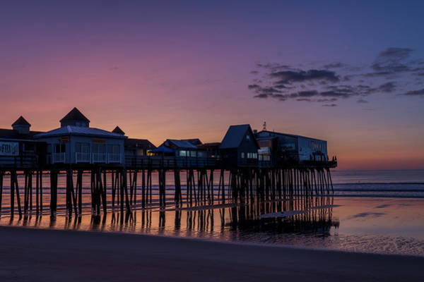 Photograph - Old Orchard Beach  by Bryan Xavier