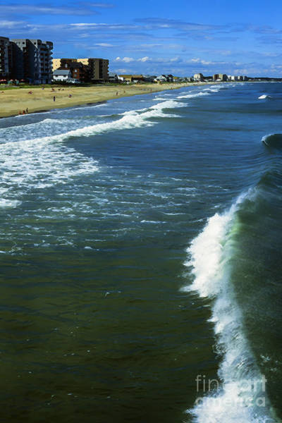 Orchard Beach Photograph - Old Orchard Beach by Thomas R Fletcher