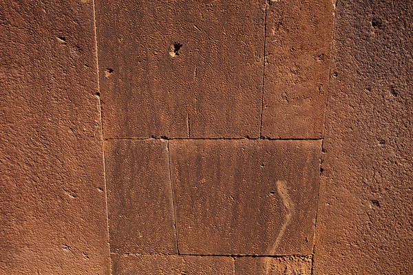 Photograph - Old Original Wall In Tiwanaku by Aivar Mikko