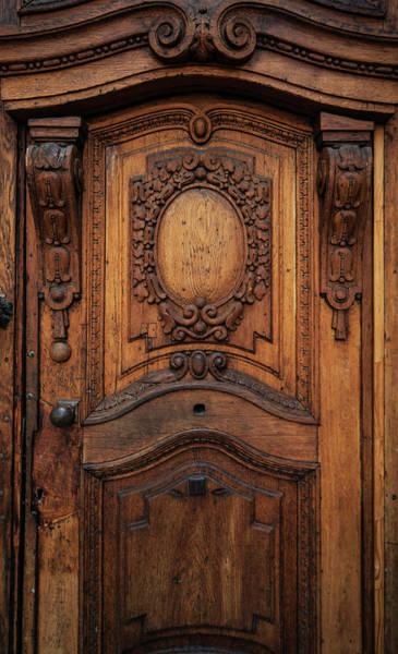 Wall Art - Photograph - Old Ornamented Wooden Doors by Jaroslaw Blaminsky