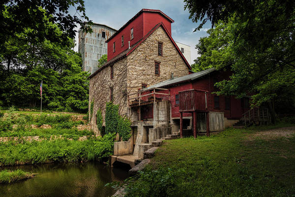 Photograph - Old Oxford Mill by Scott Bean