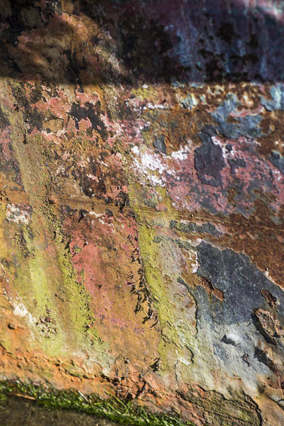 Photograph - Old Paint And Rust by Robert Potts