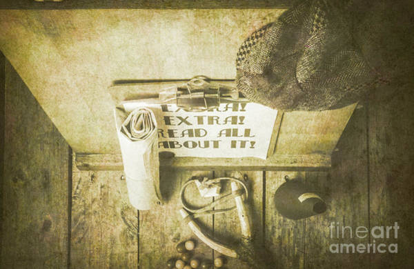 Wall Art - Photograph - Old Paper Boy News Stand by Jorgo Photography - Wall Art Gallery