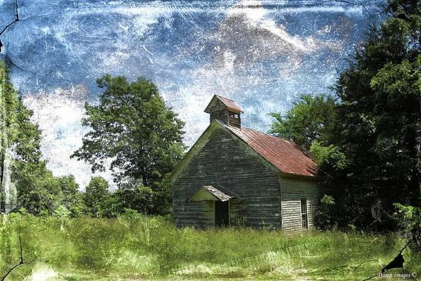 Photograph - Old Pd Flat Church by Wesley Nesbitt